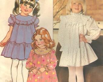 Butterick 4676 Pattern Sewing Supply DIY Childrens Dress