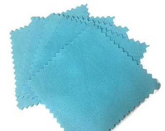 Jewelry polishing cloth, 5 pieces, silver and gold polish, polishing cloth, anti-tarnish cloth, jewelry cleaner, jewelry storage.