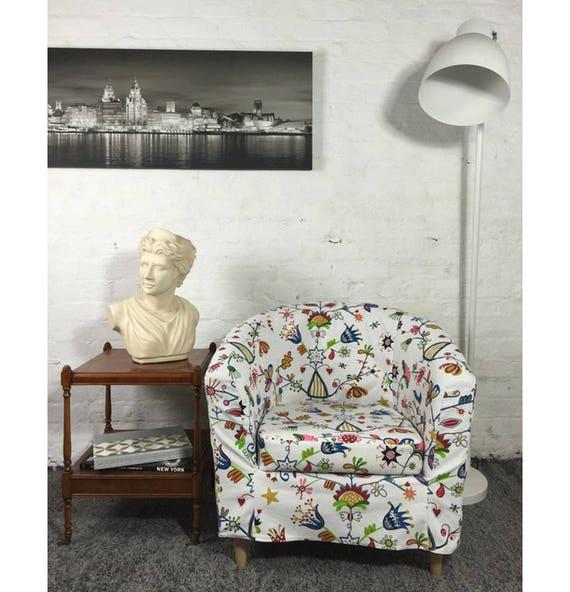 Ikea Ektorp Tullsta Tub Chair Slip Cover In Choice Of 5
