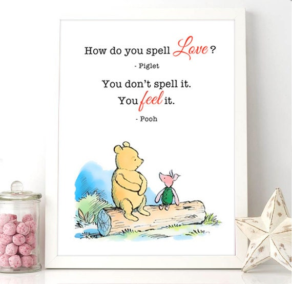 Piglet And Winnie The Pooh Quotes: Printable Milne Quote Winnie The Pooh Piglet How Do You