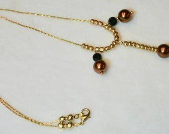 Acorn Drop Necklace