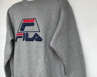 Vintage fila sweatshirt // Size XLarge