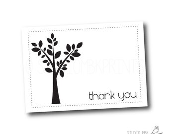 folded note cards | stationery | thank you cards