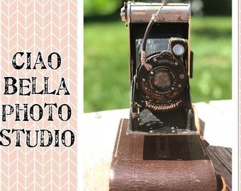 Vintage Voigtlander Bessa 1 Pull out camera