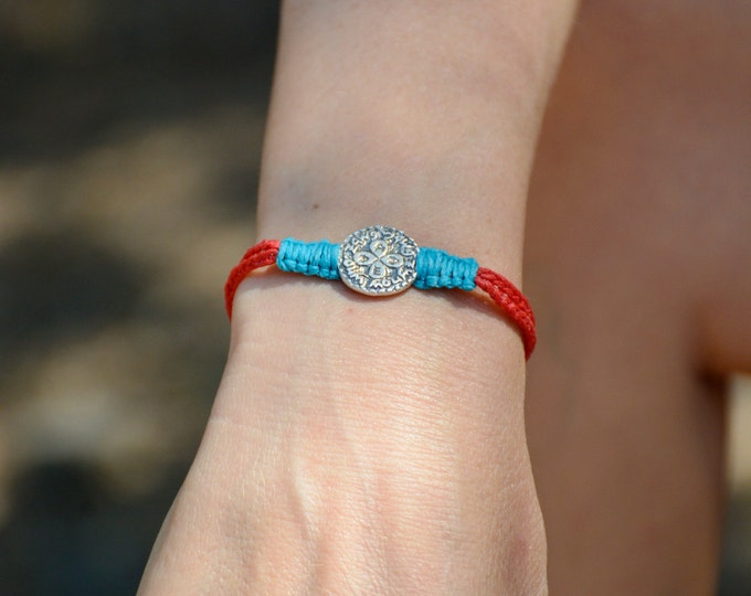 Men's Love and Relationships King Solomon Amulet Charm Handwoven Bracelet