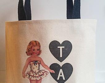 Tap dance bag,Girls tap tote bag,Dance shoes bag,Dancer tote bag,Tap dance,Shoe bag