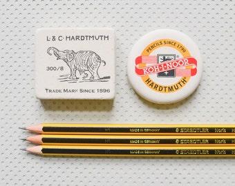 Gomme XXL gomme pour crayon crayon Koh-i-noor éléphant rond R006