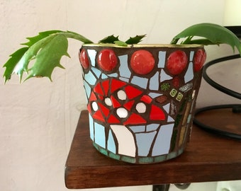 Toadstool Plant Pot