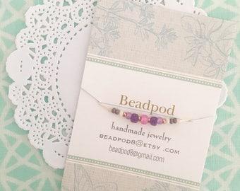 seed bead friendship bracelet wish bracelet layering bracelet boho summer bracelet