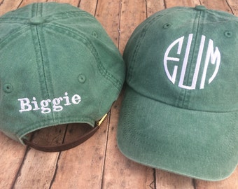 Big and Little Hats, Little sister gift, big sister, little sister, big and little, hat, gift, gifts, and and little gift, monogrammed