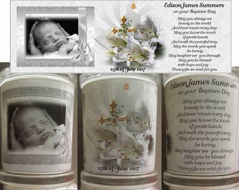 BAPTISM/ CHRISTENING CANDLES