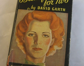 SALE was 9. Breakfast for Two by David Garth. Vintage hardback book with dust jacket. 1938