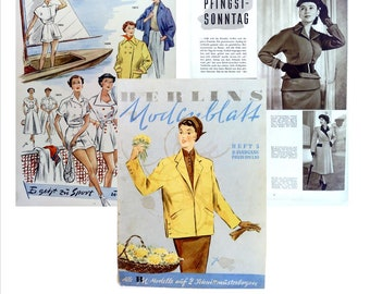 1953 German Fashion Catalog:  Digital