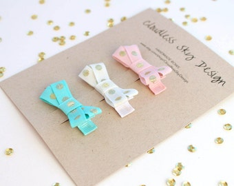 baby hair clips, hair clips for baby, infant hair bows, baby hair bows, girls hair accessories, toddler hair clips, hair bows, polka dot