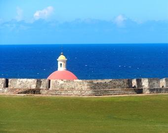 Puerto Rico, San Juan, Castillo San Felipe del Morro, Historic, Old, Cemetery 8x10