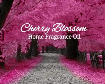 Cherry Blossom Home Fragrance Diffuser Warmer Aromatherapy Burning Oil