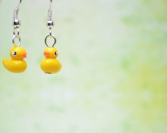 Little Ducklings, Earrings OR Necklace