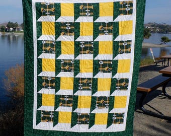 NFL Green Bay Packers Large Throw Quilt
