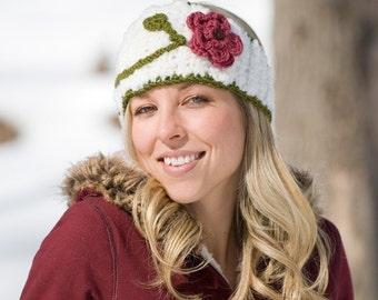 Floral Head Wrap Crochet Pattern PDF