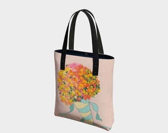 Bouquet Bag, Tote Bag, Fashion Tote