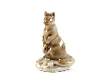Wade Whimsies - Kangaroo - Miniature Figurine 1980s