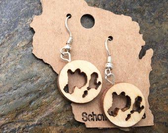 Madison Isthmus earrings