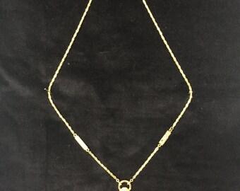 Vintage Trifari pendant necklace