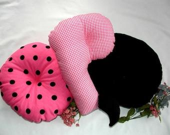 Alphabet Pillows - O P Q