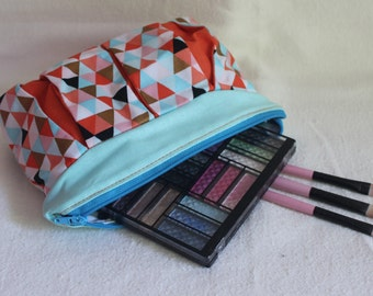 Patty Pleated zipper pouch