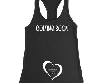 Coming Soon, Pregnancy Announcement Shirt, New Mom, Expecting Mom Gift, Preggers Shirt, Pregnancy Shirt, Maternity Shirt, Mom To Be