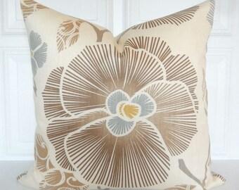 Decorative Pillow Cover - Neutral Tones - Natural, Brown, Beige - 16x16, 18x18, 20x20 - Throw Pillow - Accent Pillow - Toss Pillow