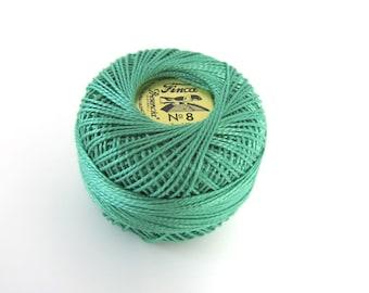 Emerald Finca Perle Cotton Thread