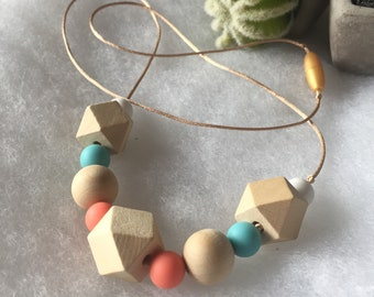 Eco-friendly necklace and lactation