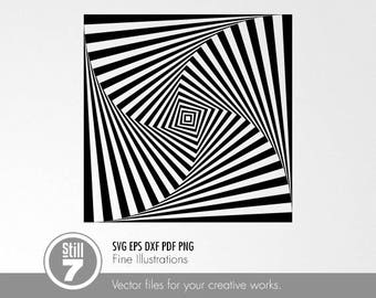 Optical illusion #1 svg dxf eps pdf png
