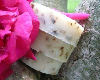 3 Bars ALL-NATURAL Fragrant Soap and Shampoo, palm-free gift soap, all natural bar soap in any scents you choose