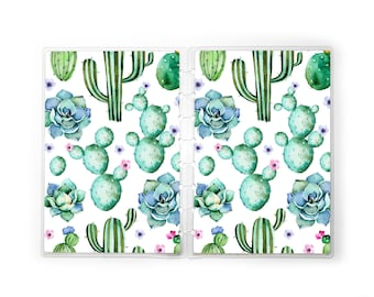 Succulent Planner Cover for use with Erin Condren Lifeplanners ™, Staples Arc, The Happy Planner ™, and TUL