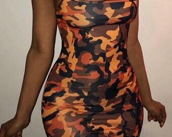 Crazy For Camo Dress