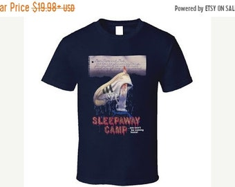 Spring Sales Event: Sleepaway Camp 1983 Movie Cover SHIRT