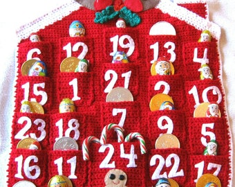 ADVENT CALENDAR Crochet Pattern Christmas Holidays PDF Instant Download