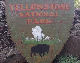 Yellowstone National Park Wyoming Old Faithful Buffalo Camping Hiking Lodge