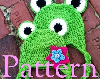 Frog Hat Pattern PDF