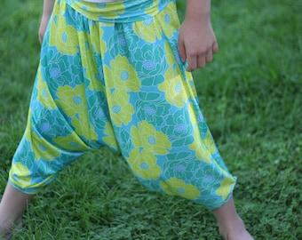Holiday Harem pants pattern - PDF pattern - NB to size 12