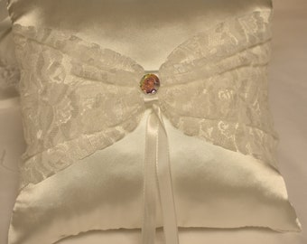 Wedding Ring Pillow - Ring Bearer Pillow