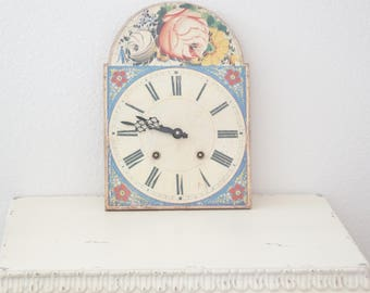 RASCC Discontinued Vintage Inspired Floral Clock