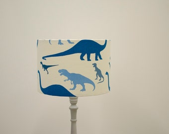 Dinosaur decor, Dinosaur bedroom accessories, Boys nursery decor, Dinosaur gift, Dinosaur light, Boys nursery lamp, Blue bedside lamp, Boys