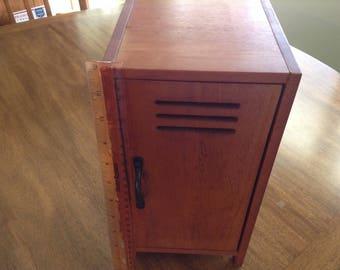 "12"" Wooden Doll Funrniture Locker"