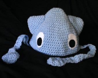 Crochet Squid Hat PATTERN