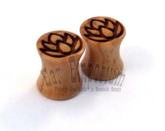 Handmade Wooden Plugs
