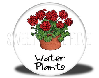 Water Plants - Chore Magnet