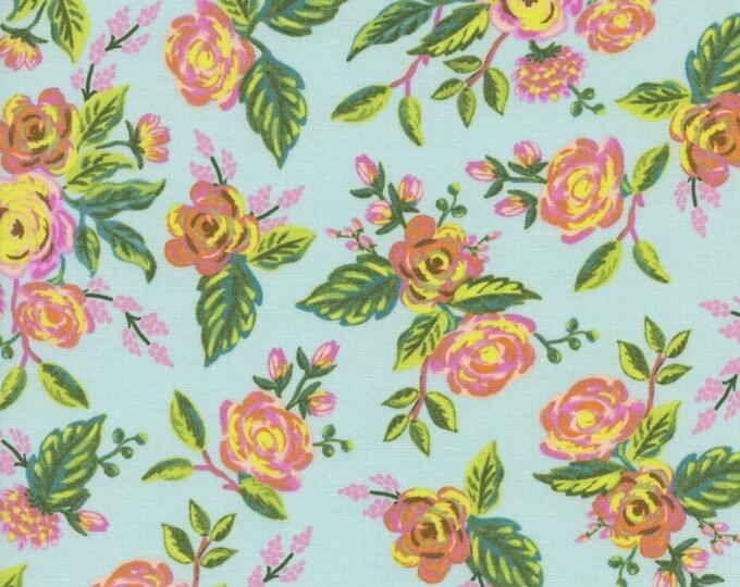 Menagerie by Rifle Paper Co for Cotton + Steel - Jardin De Paris Mint - Cotton Woven Fabric
